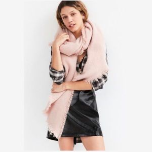 Urban Outfitters Dusty Pink Scarf